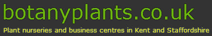 Plant Nurseries Kent and Staffordshire Logo