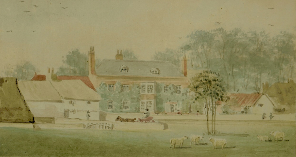 Watercolour of Northdown (now known as East Northdown House) by Richard Havel (painted 1800-1840)